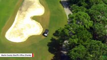 Man Uses Stolen Golf Cart In Attempt To Outrun Police Helicopter