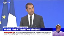 """Fête de la musique à Nantes: une intervention """"légitime"""", mais des """"modalités pas adaptées"""", déclare Christophe Castaner"""
