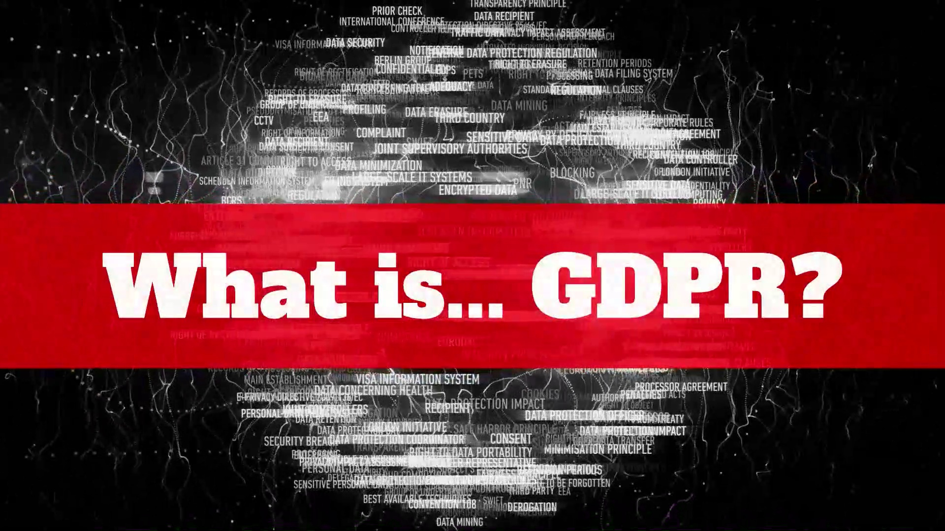 GDPR – What is GDPR?