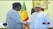 ORTM/Le chef de l'Etat a reçu en audience le Ministre Norvégien du développement international et le nouveau représentant résident de la CEDEAO au Mali