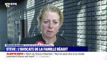 """""""La mutation du commissaire vient comme un premier élément de responsabilité"""", déclare l'avocate de la famille de Steve Maia Cariço"""