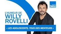 HUMOUR   L'adolescence, le passage entre l'enfance et l'alcoolisme - L'humeur de Willy Rovelli