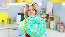 9 DIY Good Unicorn Candy vs Bad Unicorn Candy Giant Candy And Miniature Candy