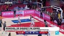 """Mondial de basket : """"les joueurs argentins ont été plus agressifs dès le début"""""""