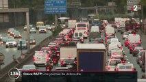 Grève RATP : des bouchons partout en Île-de-France