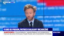 """Antoine Vey, avocat de Patrick Balkany: """"Nous avons formé une demande de remise en liberté"""""""