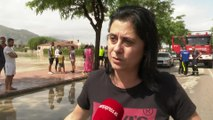 """Los vecinos de Redován (Alicante), """"con miedo"""" por las inundaciones"""