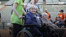 Watch elderly work up a sweat at Senior Olympics in Brussels