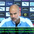 Laporte out for five to six months - Guardiola
