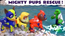 Paw Patrol Mighty Pups Rescue Challenge Toy Story with DC Comics and Marvel Avengers 4 Superheroes in this Full Episode English