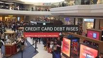 Credit Card Debt Rises Despite Recession Concerns