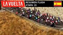 Resumen Flash - Etapa 19 | La Vuelta 19