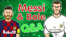 LOLs | Lionel Messi and Gareth Bale answer the internet's weirdest questions