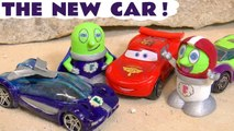 Disney Pixar Cars 3 & Hot Wheels with Funny Funlings as Marvel Avengers 4 Hulk helps Super Funling Rescue New Car in this Toy Story Racing Full Episode English