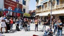 Tunisie : fin de campagne présidentielle mouvementée, un des favoris reste en prison
