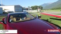 Embarquez avec Perrine Chauvin, lors d'un test d'une voiture de sport à l'aérodrome