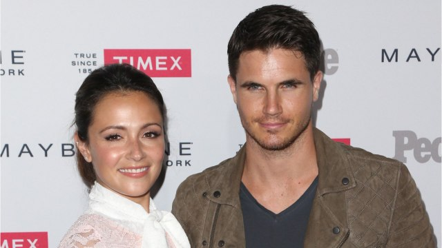 Robbie Amell And Italia Ricci Welcome Baby
