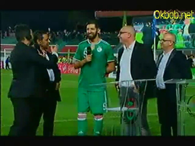 Algérie - Bénin (1-0) Fin de match