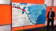Northeast cools down; Tropics heat up
