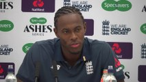 Jofra Archer post day 2 5th Ashes Test