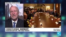 Christopher Dickey on Bolton's dismissal: 'Trump is not a warmonger but he believes in the power of the dollar'
