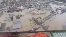 La DANA deja cuatro fallecidos, miles de evacuados y carreteras cortadas