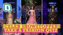Celeb Showstoppers Take a Fashion Quiz
