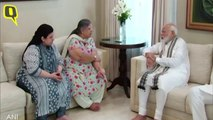 PM Modi & Amit Shah Meet Jaitley's Family At His House