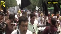 Sikhs in Delhi Protest Against Forced Conversions in Pak