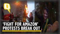 Protests Break Out Against Brazil Govt's Policies on Amazon Rainforest