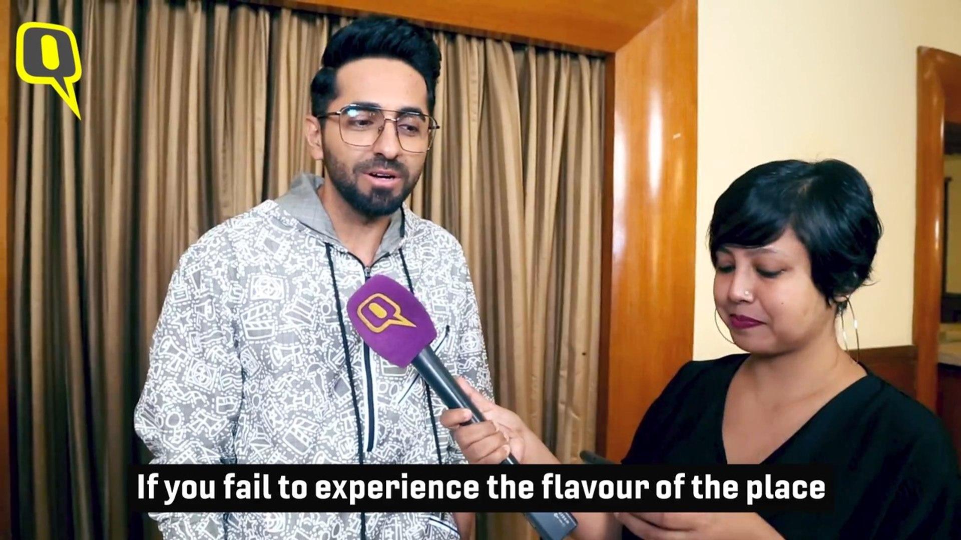 Here's How Nushrat Reacted When She Saw Ayushmann's Female Avatar