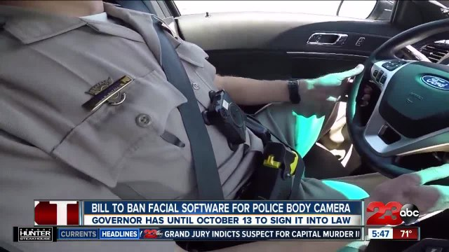 California bill looks to ban facial recognition software from police body cameras