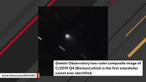 Observatory Has Captured Multi-Color Image Of First-Ever Interstellar Comet