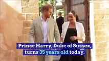 Happy Birthday, Prince Harry! (Sunday, September 15th)