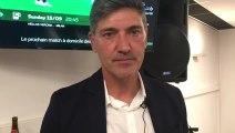 L'interview de Mazzù après Charleroi-Genk