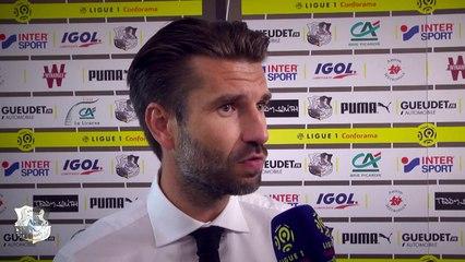 Après le match, Amiens SC - Olympique Lyonnais - Luka Elsner ( 2 - 2)