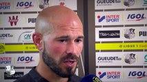 Après le match, Amiens SC - Olympique Lyonnais - Christophe Jallet ( 2 - 2)