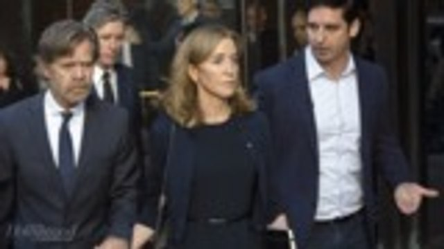 Felicity Huffman Sentenced to 14 Days in Prison | THR News