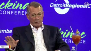 Here's The Portrait That George W. Bush Painted Of John Boehner