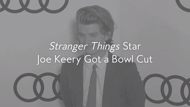 Stranger Things Star Joe Keery Got a Bowl Cut