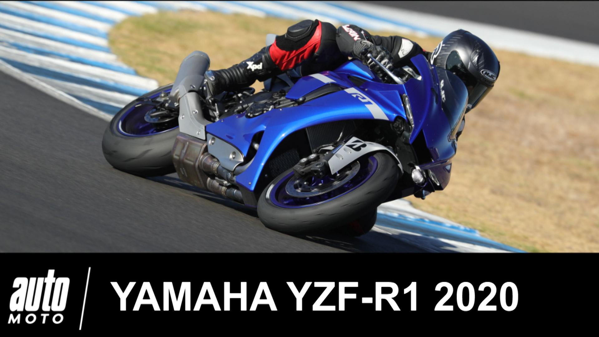 Essai Yamaha YZF-R1 2020 de 200 ch pour 201 kg sur le circuit de Jerez