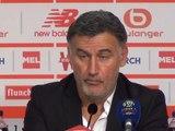 """5e j. - Galtier : """"On se projette sur l'Ajax"""""""
