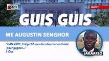 Guis Guis de Augustin Senghor dans Jakaarlo bi du 13 Septembre 2019