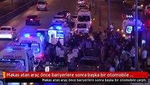 Makas atan araç önce bariyerlere sonra başka bir otomobile çarptı: 5 yaralı