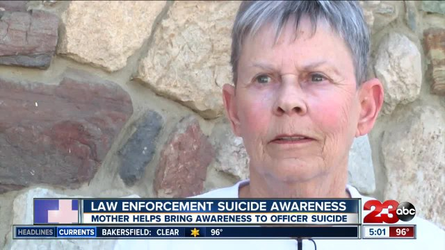 Mother speaks out about loss of son to spread suicide awareness