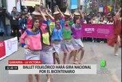 """Ballet Folclórico Nacional inicia """"Gira Bicentenario"""" en Gamarra"""