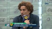 LUP: Para Memo Ochoa sólo hay un Clásico