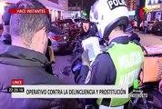 [Esta noche] Lince: operativo contra delincuencia y prostitución
