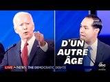 """Au débat des démocrates, Joe Biden s'est fait moquer par ce """"petit"""" candidat"""