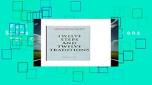 Full E-book  Twelve Steps and Twelve Traditions  For Online